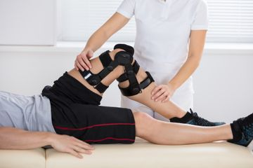 Physiotherapie in Lage am Knie